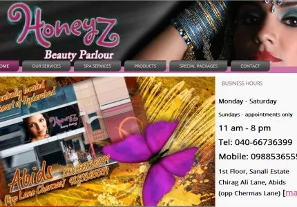 Honeyz website re launch