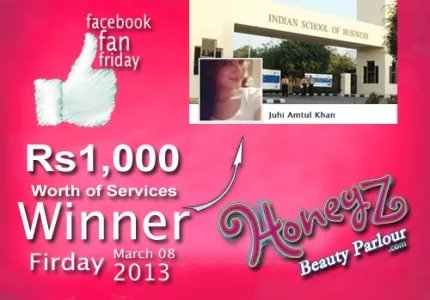 Honeyz facebook winner juhi