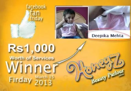 Honeyz facebook winner deepika mehta